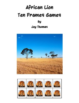 African Lion Ten Frames Games