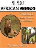 African Lions Non Fiction Unit AND Scavenger Hunt