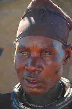 African Man-Himba Tribe Photograph