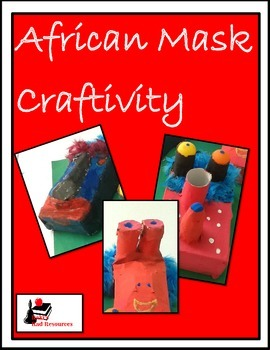 African Masks Craftivity
