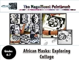 African Masks: Exploring Collage with Henri Matisse