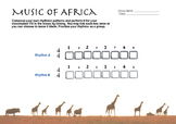World Music (Africa) Lesson Plan (Funga Alafia) Worksheet