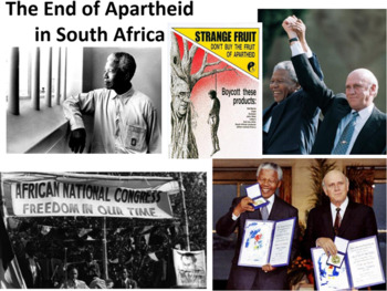 African Nationalism & the End of Apartheid in South Africa LESSON BUNDLE