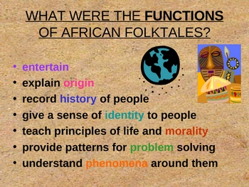 African Oral Traditions - PowerPoint