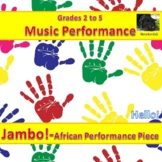 African Percussion Performance Piece - Jambo! (Hello) - Gr