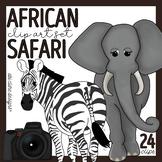 African Safari Clip Art Set