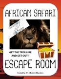 African Safari Escape Room! - Elementary - Fun - Team Building - Science