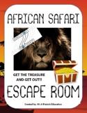 African Safari Escape Room! - Elementary - Fun - Team Buil