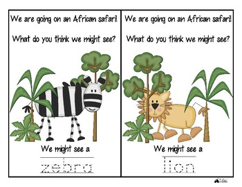 African Safari Unit for Early Elementary - Africa