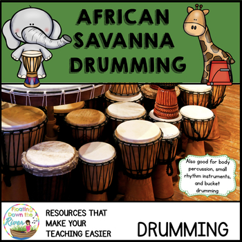African Savanna Drumming