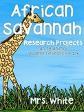 African Savannah Research Projects