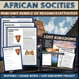 African Societies and Empires:  Unit Activity Pack