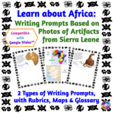 African Studies: Paperless Writing Prompts about Sierra Le