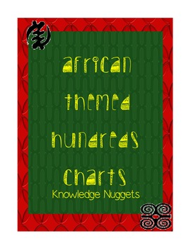 African Themed Hundreds Charts