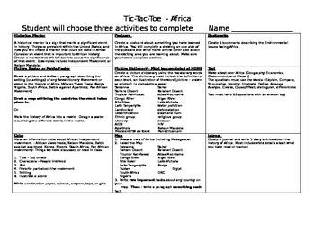 African Tic Tac Toe