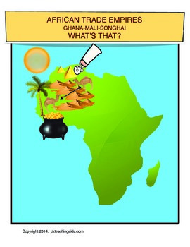 African Trade Empires, Ghana, Mali, Songhai 300--1590-- What's That?
