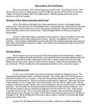 African Trade Empires - Ghana, Mali, and Songhai Travel Brochure Activity