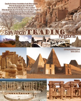 African Trading Empires Poster