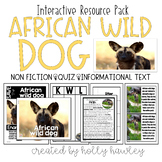African WILD DOG-A Research Project