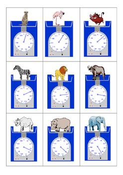 African animals Puzzles