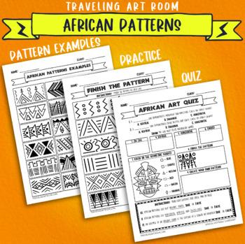 African art pattern resources