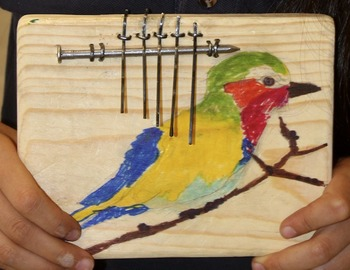African thumb piano - make your own!