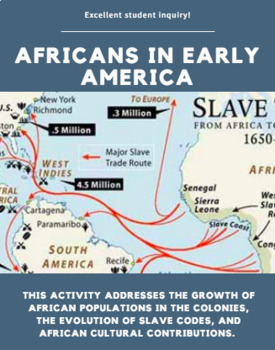 Africans in Early America