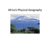 Africa's Political and Physical Geography - Presentation a