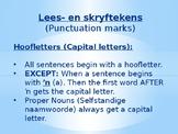 Afrikaans FAL - Lees- en Skryfteken reëls