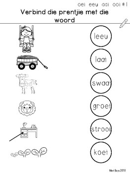 Afrikaans OEI, EEU, OOI, AAI Kort program Gr 2-3