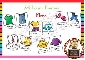 Afrikaans Themes - Klere