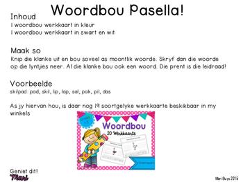 Afrikaans Woordbou Pasella!