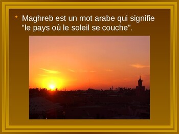 Afrique du nord; Maghreb PowerPoint