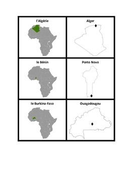 Afrique francophone Concentration games