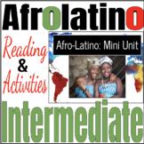 Afro-Latino Mini Unit - Black History Month Bundle