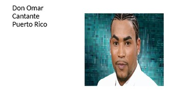 Afro-Latinos for Black History Month in Spanish PPT