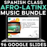 Afro-latinx del día - Song BUNDLE - Black History Month in
