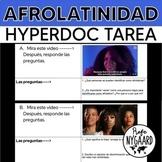Afrolatinidad HyperDoc tarea
