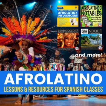 Afrolatino - Materials for Spanish classes