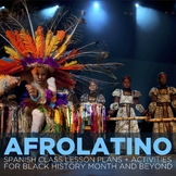Afrolatino - Materials for Spanish classes