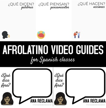 Afrolatino Viewing Guides for Spanish classes
