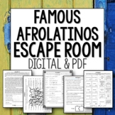 Afrolatinos Break Out Room Spanish Escape Room Distance Learning