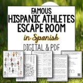 Hispanic Athletes Break Out Escape Room in Spanish for distance learning