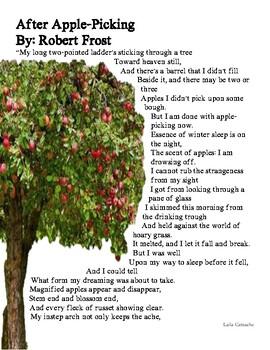 apple picking poem