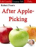 Poem: After Apple-Picking