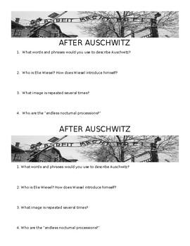 After Auschwitz Mini Quiz