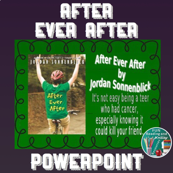 After Ever After by Jordan Sonnenblick PowerPoint