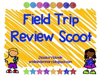 After Field Trip Review Scoot!