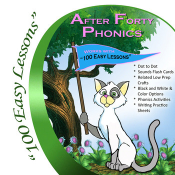 Glimmercat's 100 Easy Lessons: After Forty Phonics