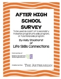 After High School Survey (Secondary Transition)